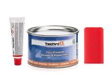 FLEXI Car Plastic Bumper Repair filler kit 454g/250ml flexible car body filler