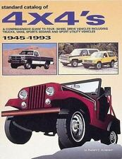 Standard Catalog of 4 X 4's: A Comprehensive Guide to Four-Wheel Drive-ExLibrary