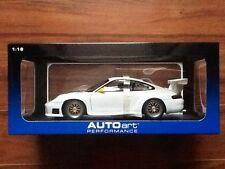 Autoart 1/18 White Porsche 911 Gt3R Upgraded Version Performance # 77822 F/S