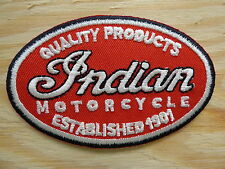 A026 ECUSSON PATCH THERMOCOLLANT INDIAN harley-davidson biker victory scout