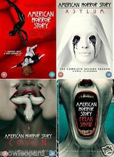 AMERICAN HORROR STORY COMPLETE SERIES 1 2 3 4 - DVD All Episodes Season New UK