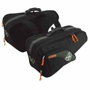 Ixon X-Comp Noir/Gris Moto / Sacoches Moto Sac