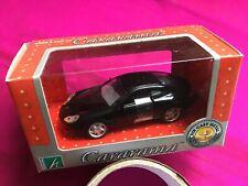 Cararama (Hongwell) Porsche 911 Carerra Coupe, 1:43 Model Car, Black
