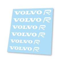x6 Premium Volvo Design R 850 T5 c30 v40 v60 s60 Logo Hi Temp Brake Decal