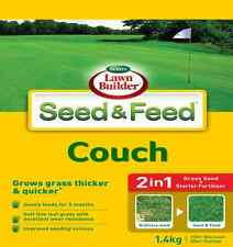 1.4kg 2in1 COUCH Lawn Turf Grass Seed Blend Self Repair Hard Wearing Drought Res