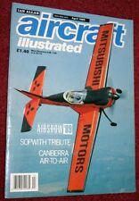 Aircraft Illustrated Magazine 1989 April Canberra,Kleine-Brogel,Vulcan