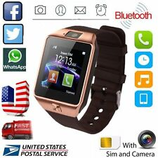 DZ09 Smart Watch Bluetooth Waterproof Wrist SIM Phone For Android Samsung iPhone