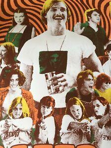 LastLeaf Design - Dazed and Confused Signed /60 Print Poster Bijou Metro OR MINT