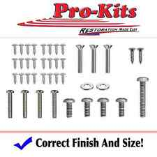 Mopar 64 Valiant Signet 200 Exterior Trim Screw Fastener Kit 48 Pieces New
