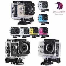 FOTOCAMERA SPORT ACTION PRO CAM CAMERA FULL HD DV 1080p  VIDEOCAMERA SUBACQUEA