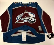 COLORADO AVALANCHE size 50 = Medium ADIDAS NHL HOCKEY JERSEY Climalite Authentic