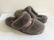 UGG DALLA SLATE FLUFF  MOCASSIN SLIP ON SLIPPERS US 7 / EU 38 / UK 5.5
