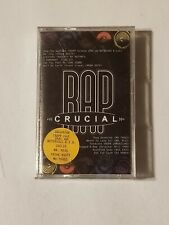 NEW SEALED CRUCIAL RAP CASSETTE TAPE NOTORIOUS B.I.G. COOLIO 2 PAC