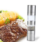 2 in 1 Stainless Steel Salt & Pepper Grinder/Dried Herbs/Spices/Mill Hand Tool