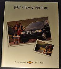 1997 Chevrolet Venture Mini Van Catalog Brochure LS Excellent Original 97