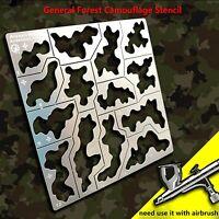 Para 1/35 Chariot Tank 1/100 Gundam Mecha Model Camouflage Leakage Spray Stencil