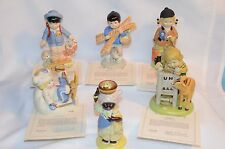 "Franklin Mint  ""The U.N.Children Collection""  Porcelain Figures  1978 -79  ( 6 )"