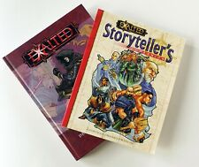 Lot of 2 Exalted RPG Books - Storyteller's Companion & The Dragon-Blooded
