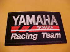 New ListingYamaha Racing Team Snowmobile Patch 3 1/2 X 2 1/4 Inch Old Stock Unused