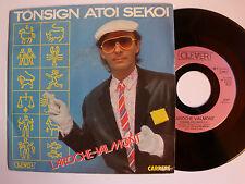 "LAROCHE VALMONT : Tonsign atoi sekoi - 7"" SP 1985 French CARRERE 13727"
