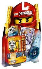 LEGO Ninjago 2175 wyplash ossatura NINJA Spinjitzu Spinner personaggio