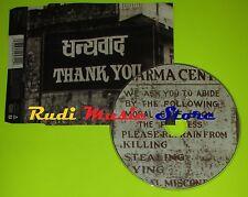 CD Singolo ALANIS MORISSETTE Thank You Us 1998 Maverick LC0322 mc dvd (S6)