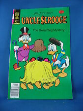 UNCLE SCROOGE 152 VF NM  Gold Key Barks The Great Wig Mystery 1978