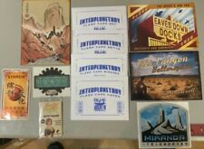 New listing Firefly Serenity Small lot 2, Complete Flashcard Set, Decals, Postcards, Fluxx