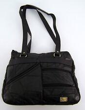 Damen Handtasche - M.C.A. YOUNG FASHION - schwarz Patchwork Leder