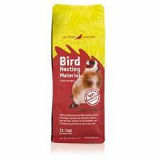 New listing Critters Comfort Bird Nesting Material Natural Coconut Fiber - 2Quarts | 2Liters