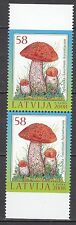 LATVIA 2008 **MNH SC# #  716 a Berries and Mushrooms - pair