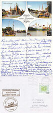 GERMAN TRAINING SHIP MS EMSSTROM A SHIPS CACHED COVER & UNFRANKED POSTCARD