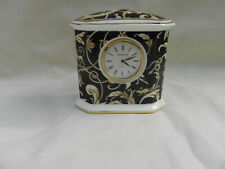Wedgwood CORNUCOPIA Small CLOCK Base 9cm x 5cm x 9m Tall Excellent.