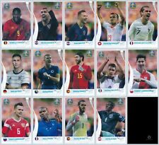 PANINI EURO 2020 PREVIEW - Set 14 Coca Cola Stickers + 1 Leeralbum Swiss +1 Tüte