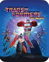 Transformers The Movie Blu ray Disc 2016 30th Anniversary Edition SteelBook 4K