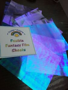Angelina Fusible Fantasy Film Sheets Peacock Dragonfly Fairy Crafts Collage Art