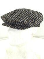 cappello berretto uomo lana pied de poule
