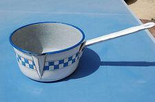 Casserole tôle émaillée LUSTUCRU 20 cm de diamètre -----//C40//
