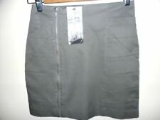 Above Knee Cotton Wear to Work Skirts for Women