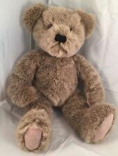 """DAKIN NICK And NORA APPLAAUSE LUSCIOUS BROWN TEDDY BEAR PLUSH 15"""" TALL"""