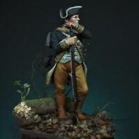 1/24 Resin Model Kit Figure US Army American Revolutionary War Soldier Musket