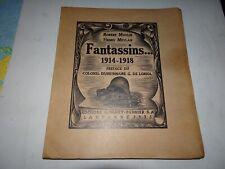 Moulin Fantassins guerre 1914 1918 dédicacé numéroté bois gravé Lausanne 1925