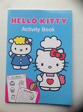 Libro de actividad Hello Kitty