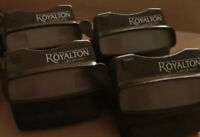 """View Master 3D Viewer BLACK LOT Of 4 T""""ROYALTON Viewers NEW W/O reel"""
