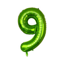 """40"""" Number Foil Balloons Birthday Party Wedding Decor Supply Air Baloons Green"""
