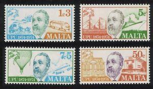 Malta UPU 4v 1974 MNH SG#527-530