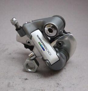 Shimano 600 Tricolor RD 6400 Rear Derailleur / 6S / 216g / Short Original Wheels
