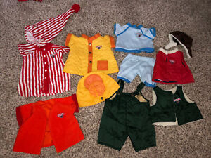 Teddy Ruxpin Outfits Clothing Lot T95