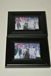 Nice Black Framed NSYNC Band Paper Printed Photos Justin Timberlake Lot of 2