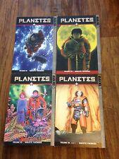 Planetes 1 2 3 4 Manga book lot Makoto Yukimura Tokyopop Sci-fi space used Eng